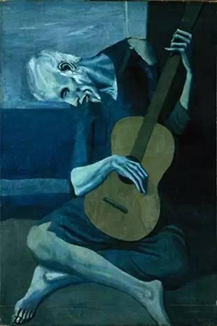 《Vieux Joueur de Guitare》,1903