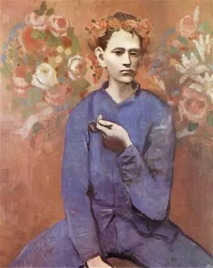 《Garçon à la pipe》, 1905