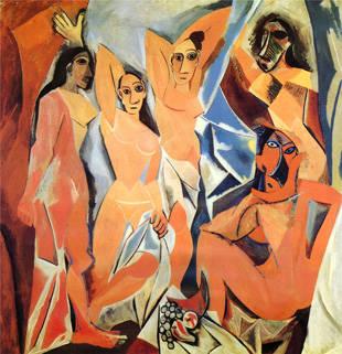 《les demoiselles d'Avignon》,1907