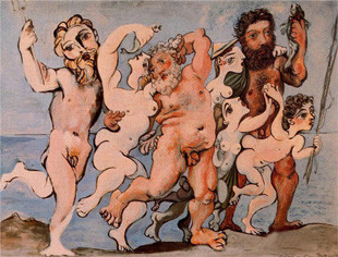 《Silenus dancing in company》,1933